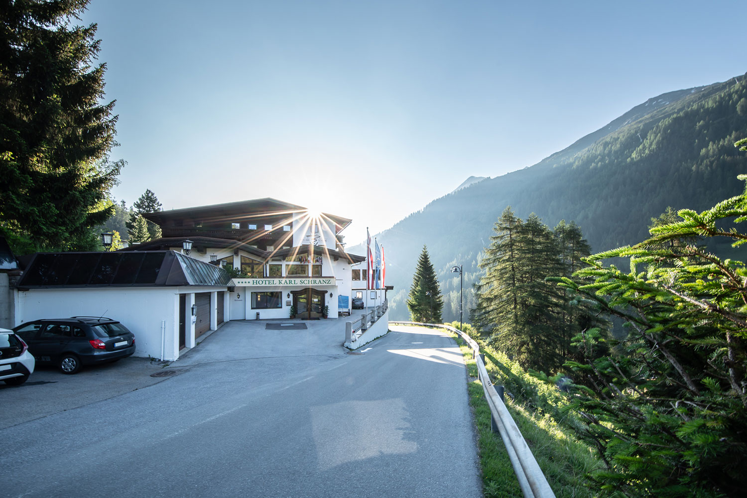 Short stays at the Hotel Karl Schranz