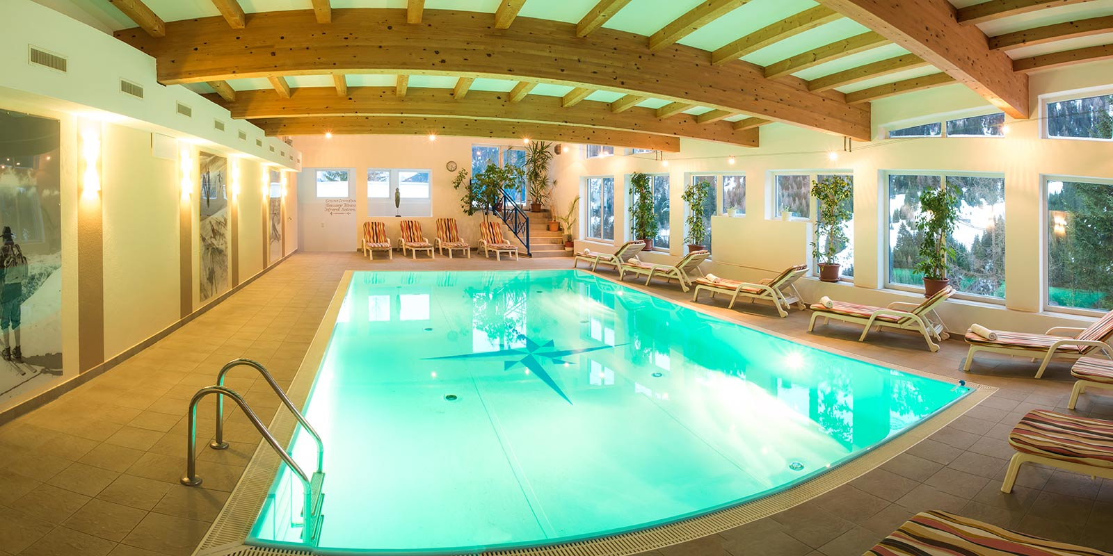 Wellness spa in the karl schranz hotel sankt anton for Best health spas in the us